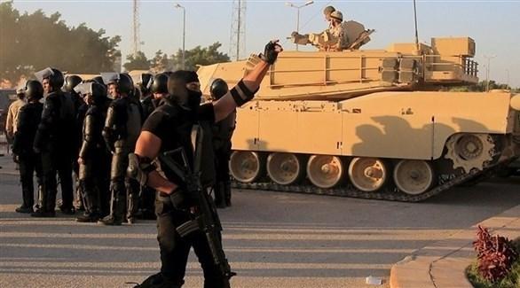 عناصر من الوحدات الخاصة المصرية في سيناء (أرشيف)