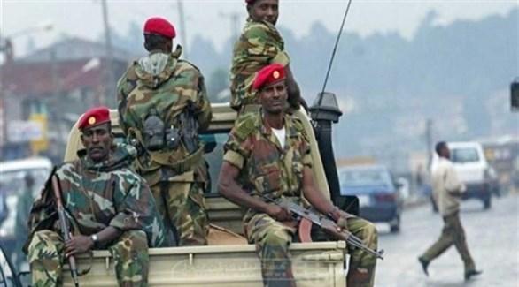 قوات أثيوبيا في اقليم تيغراي (أرشيف)