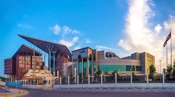 مبنى دائرة القضاء في أبوظبي (المصدر)