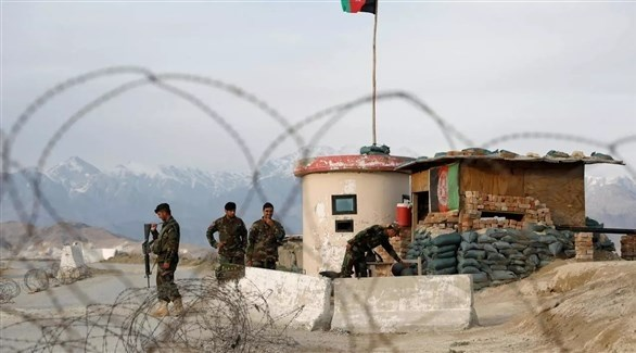 نقطة عسكرية لقوات الأمن الأفغانية (أرشيف)