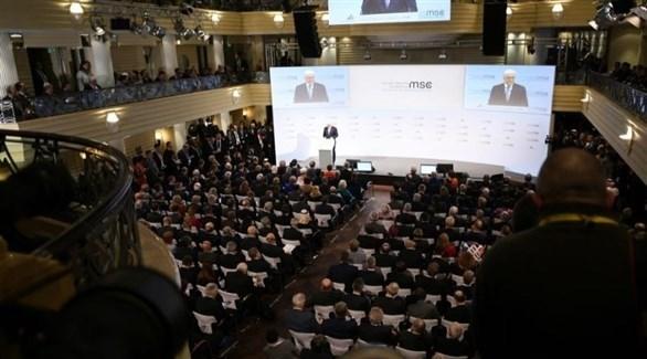 جانب من إحدى جلسات مؤتمر ميونخ للأمن في دورة سابقة (أرشيف)