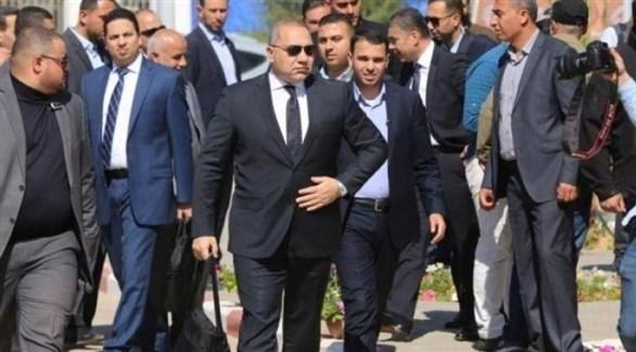 رئيس المخابرات المصرية في  زيارة سابقة إلى قطاع غزة (أرشيف)