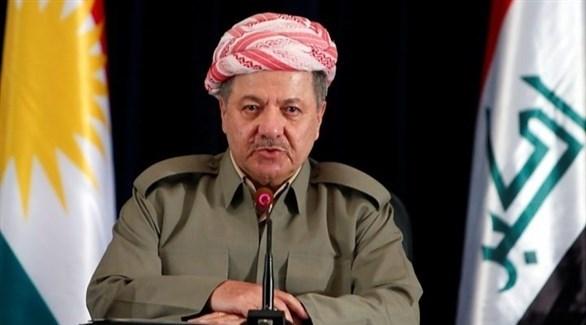 الرئيس السابق لإقليم كردستان العراق مسعود بارزاني (أرشيف)