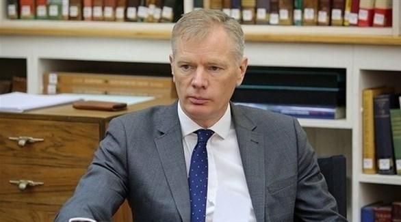 السفير البريطاني لدى طهران روب ماكير (أرشيف)