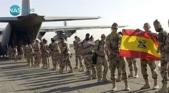 عناصر من القوات الإسبانية (أرشيف)