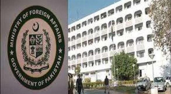 شعار وزارة الخارجية الباكستانية (أرشيف)