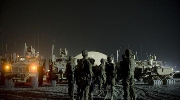 القوات الأمريكية في قاعدة عين الأسد (أرشيف)