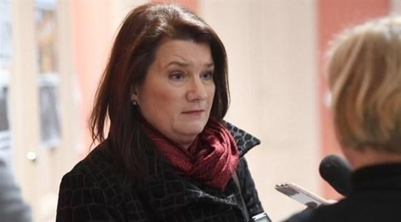 وزيرة خارجية السويد، آن ليندا (أرشيف)