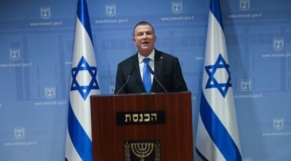 رئيس البرلمان الإسرائيلي يولي إدلشتاين (أرشيف)
