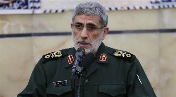 قائد فيلق القدس في الحرس الثوري الإيراني الجديد إسماعيل قآني (أرشيف)