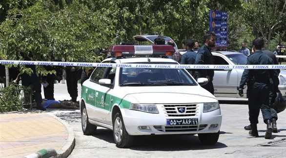 عناصر من القوات الأمنية في إيران (أرشيف)