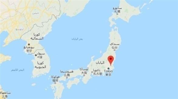 زلزال بقوة درجة يضرب اليابان