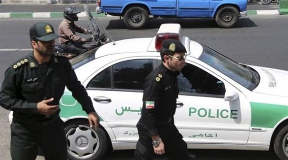 عناصر من الشرطة الإيرانية (أرشيف)