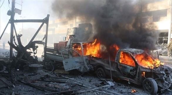 انفجار سابق في سوريا (أرشيف)