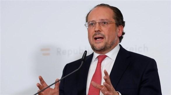 وزير الخارجية النمساوي ألكسندر شالنبرغ (أرشيف)
