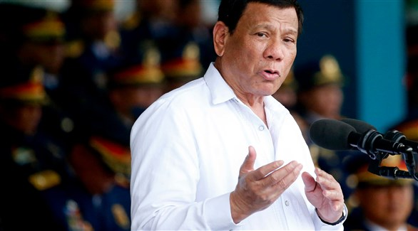 رئيس الفلبين رودريغو دوتيرتي (أرشيف)
