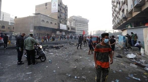مظاهرات العراق (أرشيف)