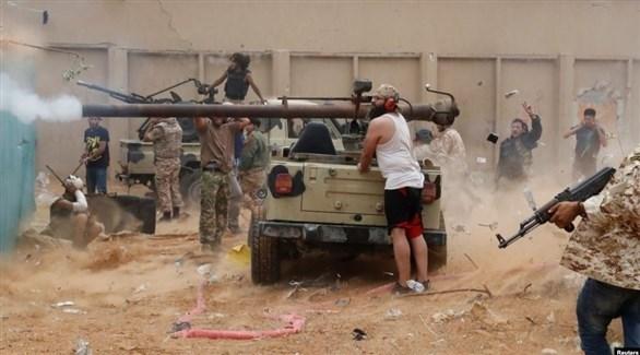 جانب من معارك ليبيا (أرشيف)