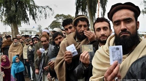 مجموعة من اللاجئين الأفغان (أرشيف)