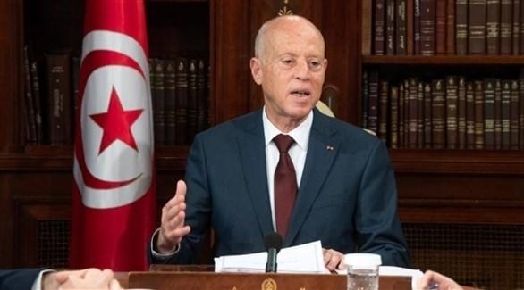 الرئيس التونسي قيس سعيد (أرشيف)