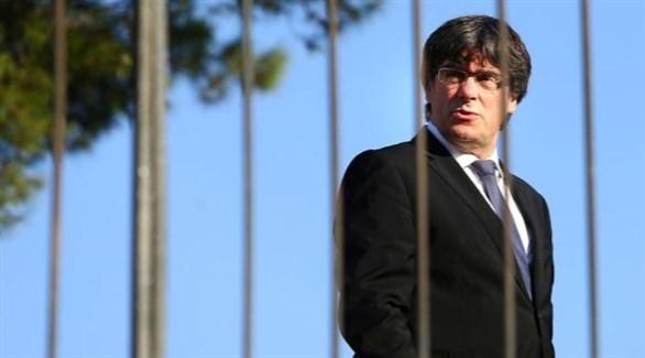الرئيس السابق لإقليم كاتالونيا كارليس بوتشيمون (أرشيف)