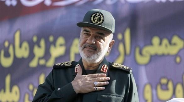 القائد العام للحرس الثوري الإيراني حسين سلامي (أرشيف)