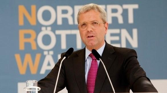 رئيس لجنة الشؤون الخارجية في البرلمان الألمانينوربرت روتغن (أرشيف)