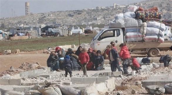 نصف مليون طفل يواجهون خطر الموت بسبب البرد في مخيمات النازحين بشمال سوريا (أرشيف)