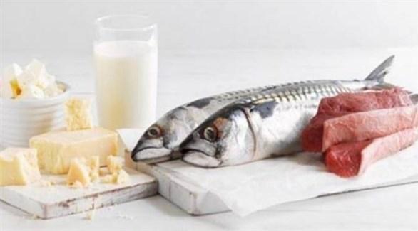 منتجات الألبان والأسماك.. أفضل مصدر