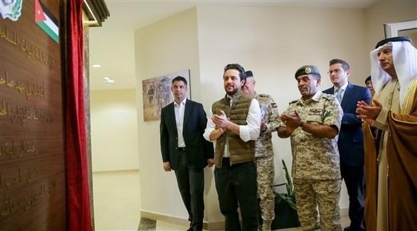 افتتاح مدينة محمد بن زايد للتدريب العسكري في الأردن 2020310210491219U