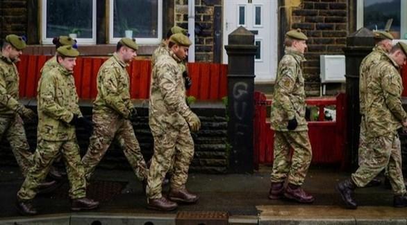 جنود من الجيش البريطاني (أرشيف)