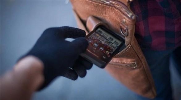 سرقة هاتف محمول (تعبيرية)