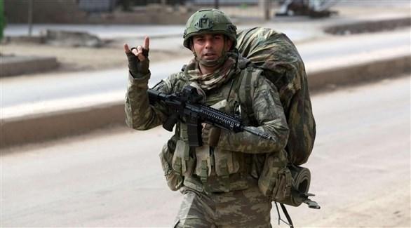 جندي تركي (أرشيف)
