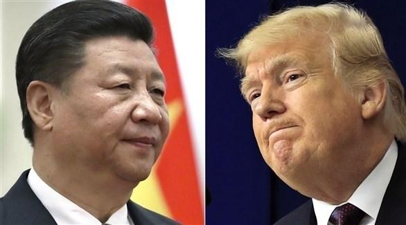 الرئيس الأمريكي دونالد ترامب ونظيره الصيني شي جين بينغ (أرشيف)