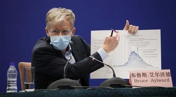 رئيس بعثة منظمة الصحة العالمية في الصين بروس أيلوارد (أرشيف)