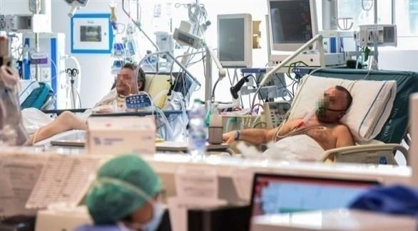 مرضى بكورونا في مستشفى إيطالي (أرشيف)