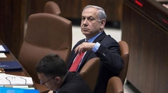 بنيامين نتانياهو في الكنيست الإسرائيلي (أرشيف)