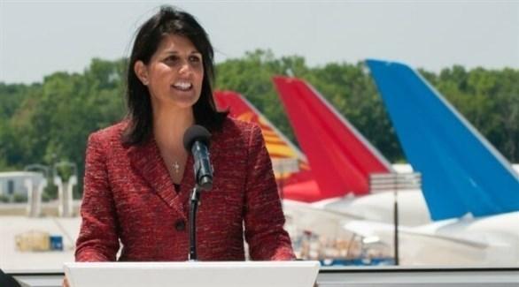 السفيرة الأمريكية السابقة لدى الأمم المتحدة نيكي هيلي (أرشيف)