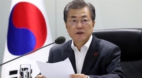 رئيس كوريا الجنوبية مون جيه إن (أرشيف)