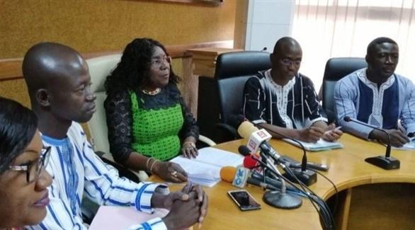 مؤتمر صحافي لوزيرة الصحة في بوركينا فاسو (أرشيف)