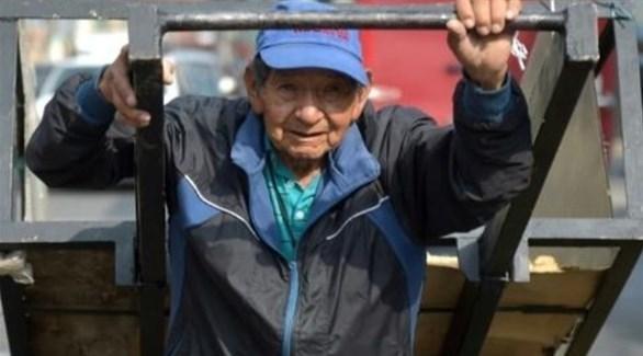 فقراء مسنون في كولومبيا (أرشيف)