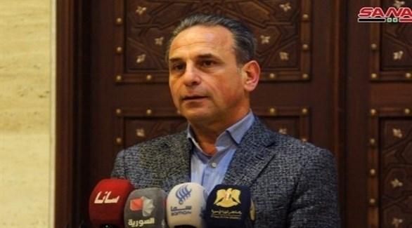 وزير الصحة السوري نزار يازجي (أرشيف / سانا)