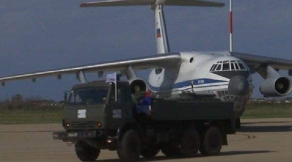 معدات روسية تصل لإيطاليا (أرشيف)
