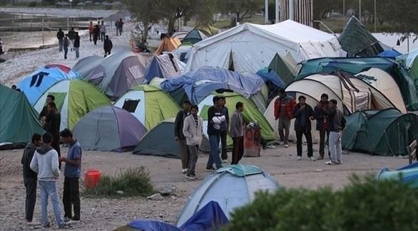 مخيم للاجئين في اليونان (أرشيف)