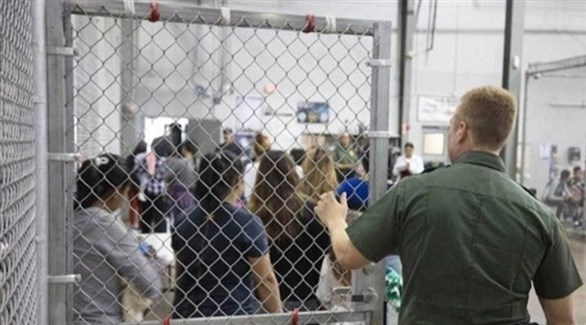 مركز لاحتجاز المهاجرين في أمريكا (أرشيف)