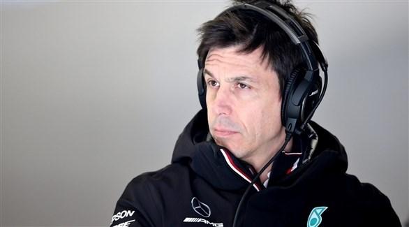 توتو فولف رئيس فريق مرسيدس المنافس في سباقات سيارات فورمولا1 (أرشيف)