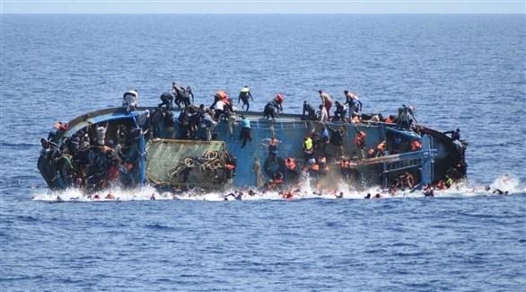 غرق قارب مهاجرين قبالة الشواطىْ التونسية (أرشيف)