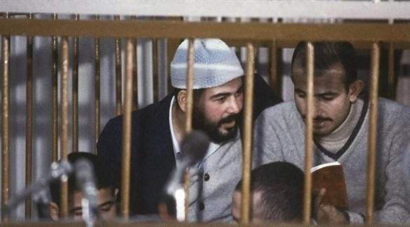 قتلة الرئيس السادات خلال المحاكمة (أرشيفية)