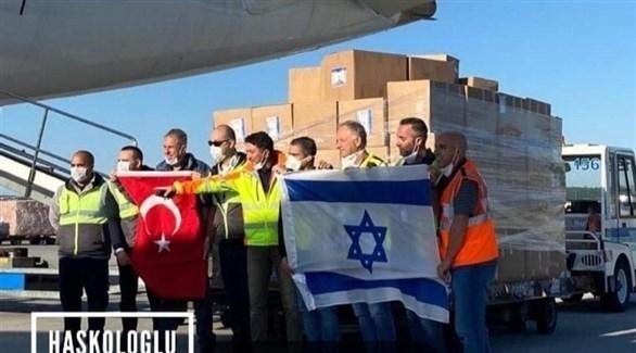وصول الشحنة الإسرائيلية إلى تركيا (من المصدر)