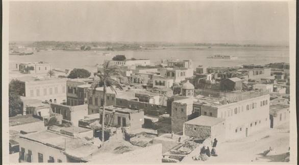 منظر جوي لمدينة فلسطين حوالي 1910 - 1930 المرجع 62, حقوق النشر لجيل أوكيفي إيدسون بتنسيق مع مركز عكاسة للتصوير الفوتوغرافي